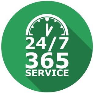 Servis 24 sata 7 u nedelji 365 dana u godini